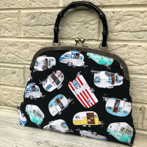 Caravan Handbag Rockabilly Pinup 1950's Inspired