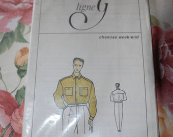 Pattern shirt size 38 to 42