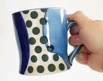Green Dot Mug E