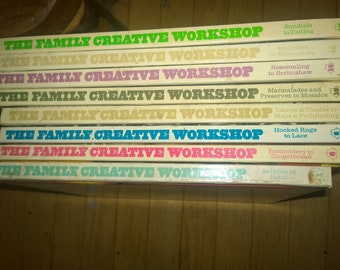 Books: The Family Creative Workshop select volumes 8, 9, & 16 remaining