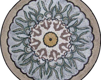 Botanical Stone Artwork - Rana
