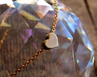 Dainty Loving Heart Bracelet