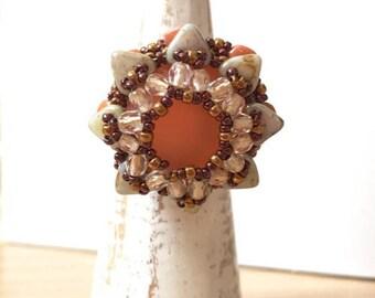 Orange Star Ring