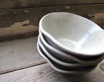 ceramic bowls, made to order set of bowls, Ceramic Bowl Set  Pottery Bowl Set Ceramic Salad Bowls white bowls  minimalist dinnerwares dishes