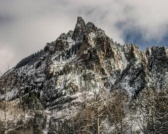 Mountain Photography, Tellluride Mountain Print, Landscape Print, Nature Decor, Nature Wall Art, Adventure, Colorado Photography, Wilderness