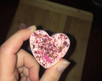 Mini Heart Bath Bomb | Heart | Party Favor | Shower Favor | Gift