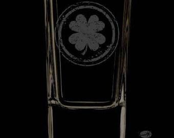 2.5 Ounce Irish Personalized Shot Glass