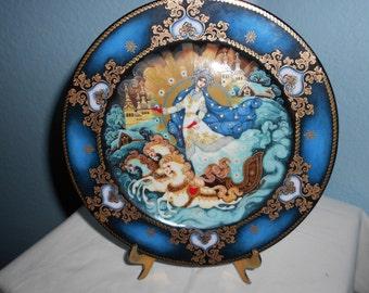 Russian Season's Winter Majesty Plate