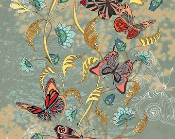 Butterfly art print, Nature prints, Butterfly gifts