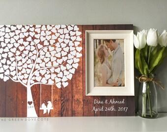 Wedding Tree Guest Book - Wedding Guestbook - Alternative Wedding Guestbook - Signature Tree Guestbook - Unique Guestbook Ideas