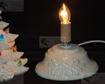 Mother Of Pearl (Small) Ceramic Christmas Tree Base