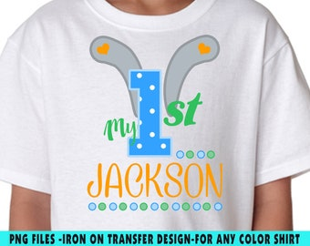 Easter Iron On Transfer , Easter DIY Transfer , DIY Easter Birthday Shirt , Personalize , Any Name , Any Age , Digital Files
