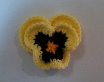 Pansy Crochet Pattern