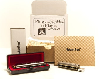 Musical Combo Play Harmonica Kit, Musical Instrument, Unique 8GB USB