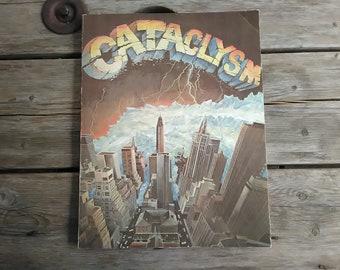 Cataclysm!!  Rare book by Philip Yordan Oscar winning writer for Best Story.