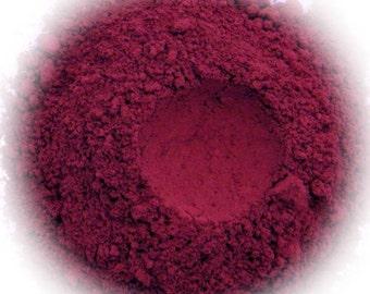 5g Mineral Eye Shadow - Dark Madder - Deep Red