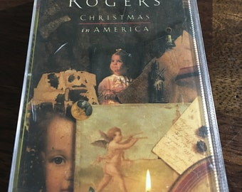 Kenny Rogers Christmas In America Cassette