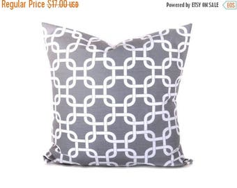 15% Off Sale Gray Pillow Cover Decorative Pillows Decorative Pillow - Throw Pillow covers - Throw Pillows - Accent Pillows - Cushion