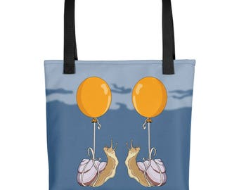 Fancy Meeting You Here- Snail Tote bag