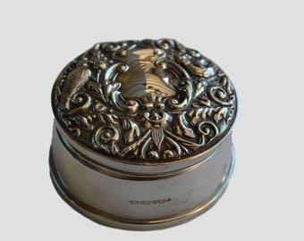 Sterling Silver Trinket Box B & Co Birmingham