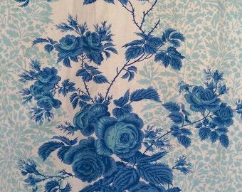 Vintage curtains Romanex the Boussac print Rueil