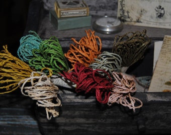 Paper Ribbon - Hand Dyed