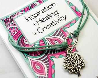 Tree of Life Bracelet - Love Family Bracelet - Friendship Charm Bracelet - Wish Bracelet - INT022