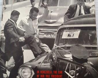 Vintage LIFE Magazine May 26, 1958 Week of World Tumult