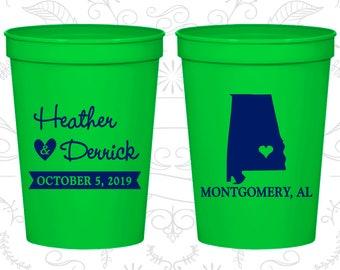 Alabama Wedding Cups, Alabama Stadium Cups, Alabama Plastic Cups, Alabama Cups, Alabama Party Cups (100)