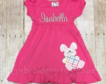 Easter Dress Toddler Girls, Easter Dress Girls, Girls Easter Outfit, Easter Bunny Dress, Easter Bunny Outfit, Girls Spring Dress