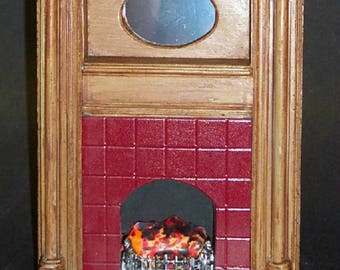 12th scale  Dolls House Arts & Crafts Fireplaces       ACF1BY