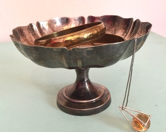 Vintage Silver Catchall