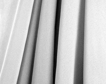"""60"""" Wide - High Quality 100% Polyester Chiffon Sheer Fabric - SILVER"""
