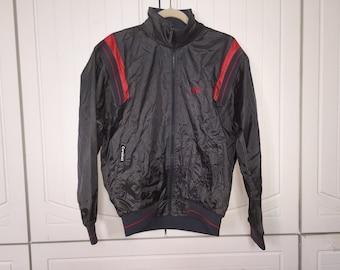Vintage 1988 Nike Dark Gray Zipper Jacket Medium