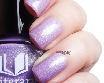 Free to Fly - Full Sized Holographic Nail Lacquer : 2015 Community Collection