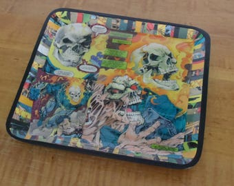 Ghost Rider WoodenTray / Comic Book Tray