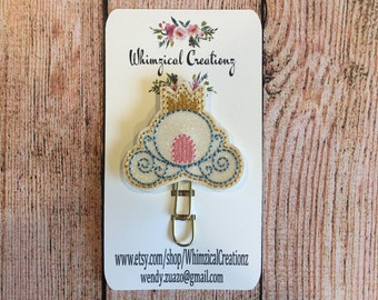 Princess Carriage Planner Clip
