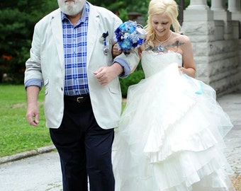 ELIZA inspired Wedding Gown