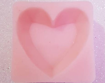 Silicone mold heart shaped gem/shaped gem Silicone mold