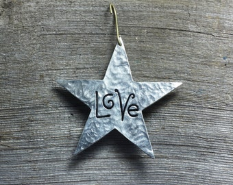 Star ornament - Love
