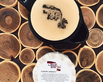 Almond Armada  Beer Soap Made with Samuel Smith Nut Brown Ale