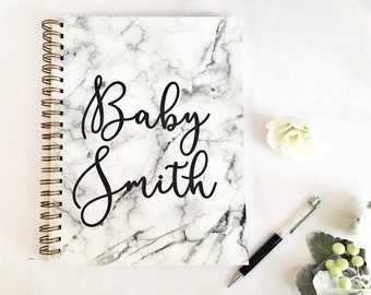 Pregnancy journal, pregnancy diary, pregnancy planner,  pregnancy tracker, mom to be gift, first Mother's day gift from husband