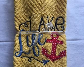 Lake Life Towel