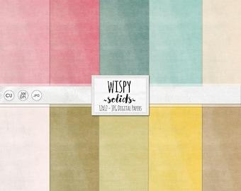 Baby Soft Pastel Digital Paper, Solid Textured Digital Card Stock, Printable Background Paper Pack, Instant Download JPG Design, Sweet
