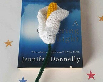 Crochet Calla Lily, Wedding Bouquet, Mothers Day, Valentines Gift, Gift for her, Forever Flowers, Funeral Flowers, Remembrance Gift