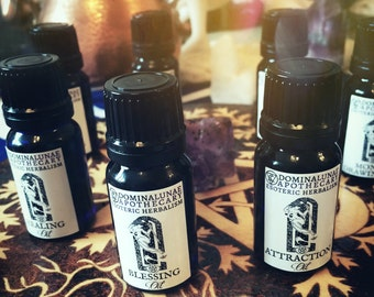 Spells and rituals oils
