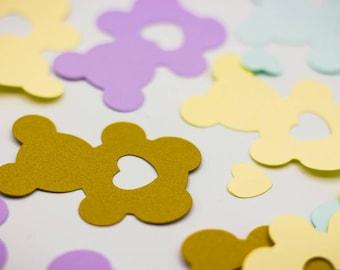 Teddy Bear Confetti | Personalized Confetti | Custom Confetti | Party Decor | Table Decor