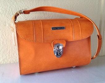 Mid Century Modern Orange Royal Traveller Sidekicks Carry on Overnight Bag by Samsonite