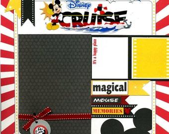 Cruise - 12x12 Premade Scrapbook Page