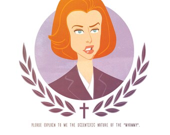 Scully - postcard